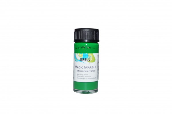 Marmorier-Farbe hellgrün