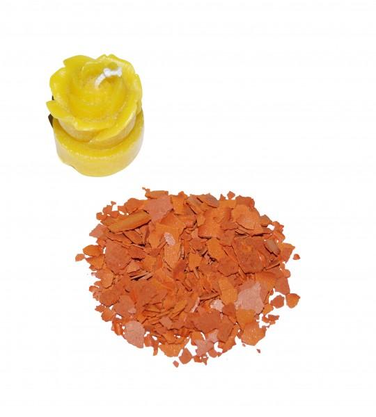 Kerzenfarbe Pigment ananasgelb