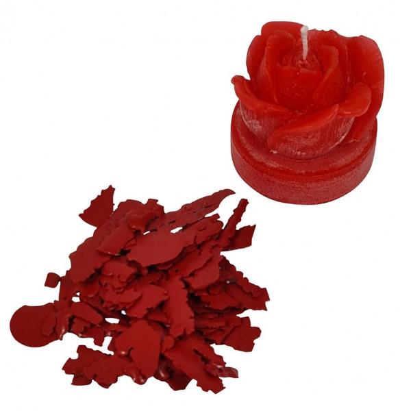 Kerzenfarbe Pigment rot