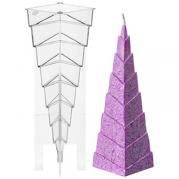 Stufenpyramide Kerzengießform