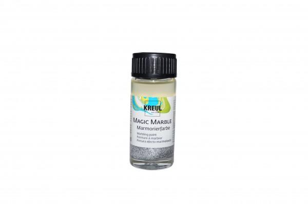 Marmorier-Farbe Glitzer-Silber