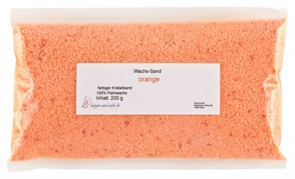 WaxSandArt orange