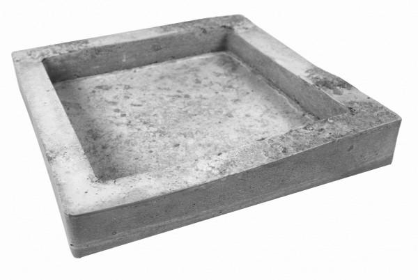 Quadrat 145/185 mm 2-fach Betongießform