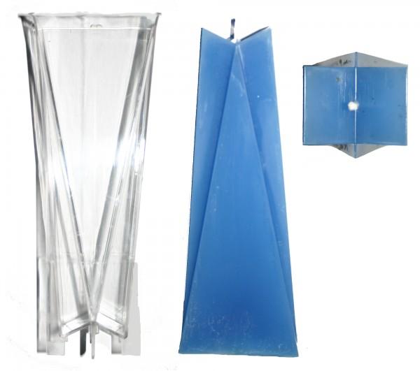 Triangel Kerzengießform