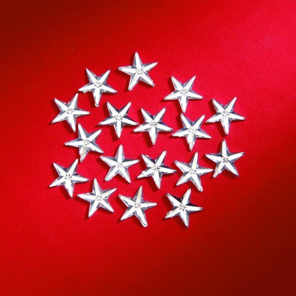 Sterne silber 15mm