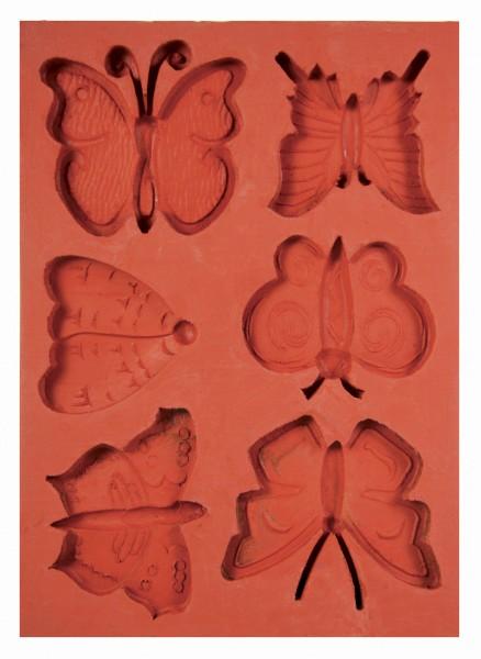 Schmetterlinge Silikon-Schmelz-/Giessform