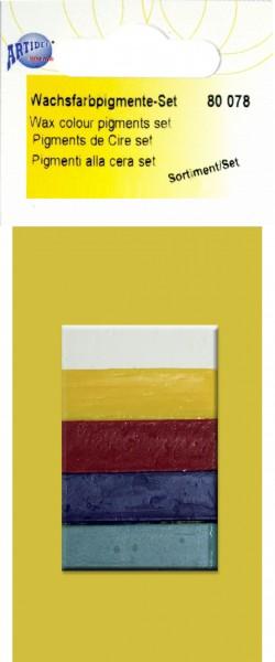 Wachs-Farbpigmente-Set