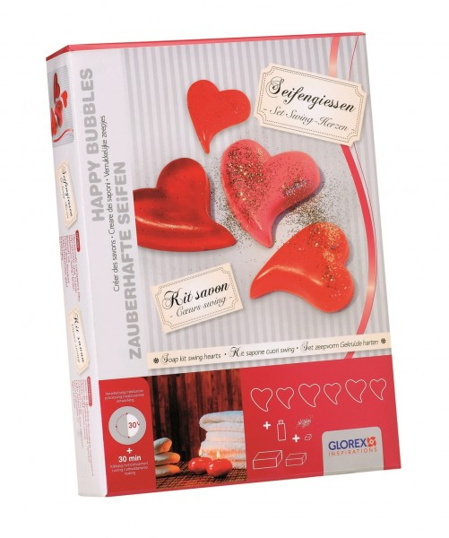 Geschenkpackung Swing-Herzen