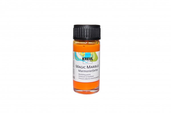Marmorier-Farbe orange