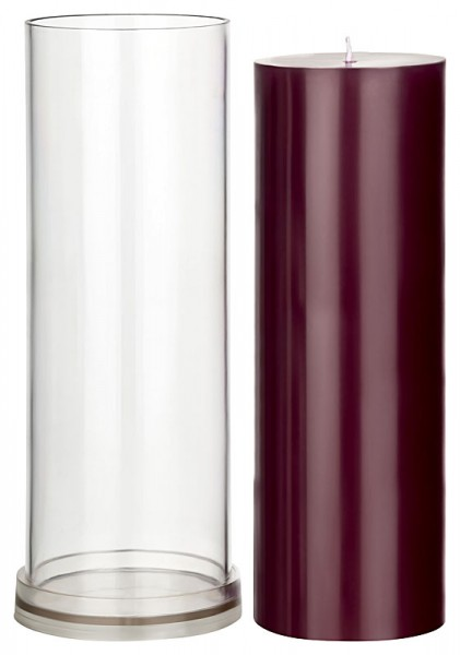 Zylinder D 100mm H 305mm Kerzengießform