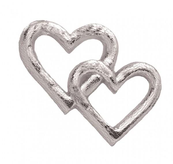 Herzen silber