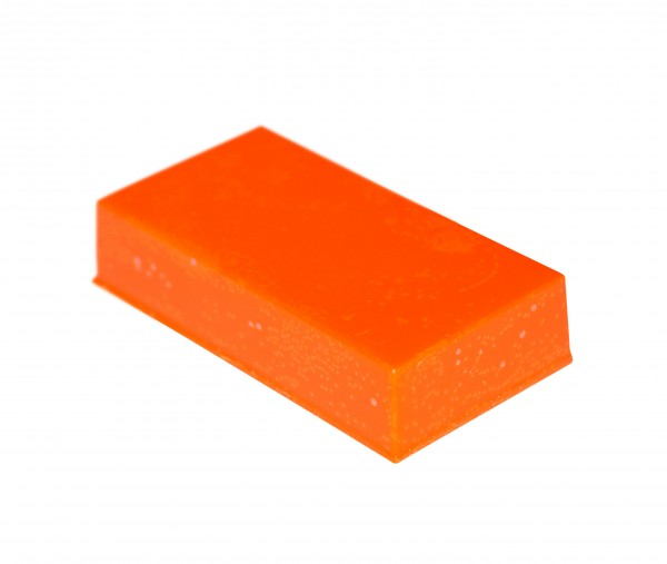 Wachsfarbpigmente neon orange