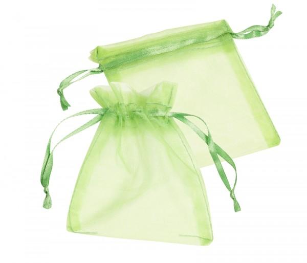 Organza-Säckchen apfelgrün L