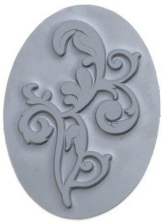 Ornament oval 70x47mm