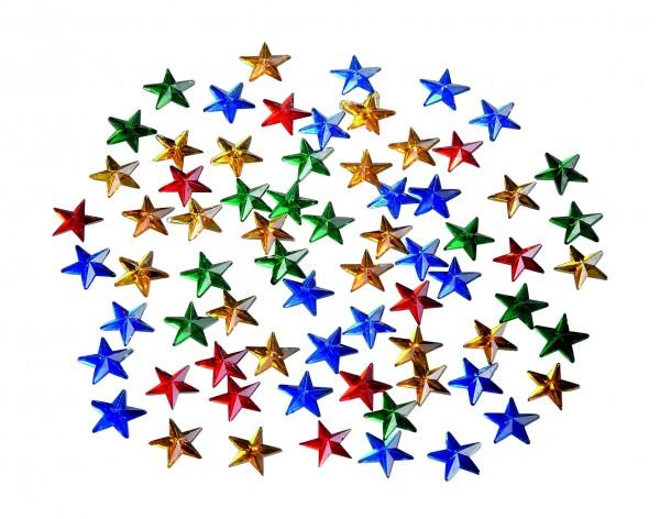 Schmuck-Steine Sterne klein
