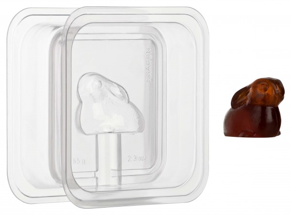 Hase 3D Seifengießform