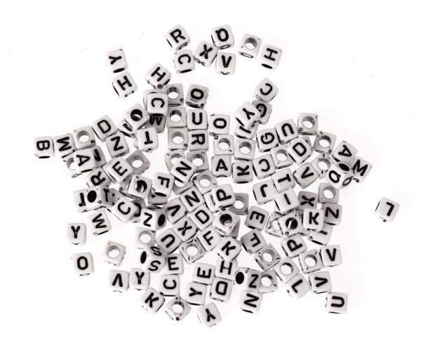 Alphabet schwarz/weiss 50g