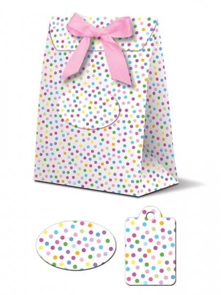 Geschenkboxen Punkte