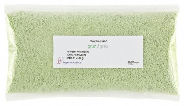 grün / grau WaxSandArt
