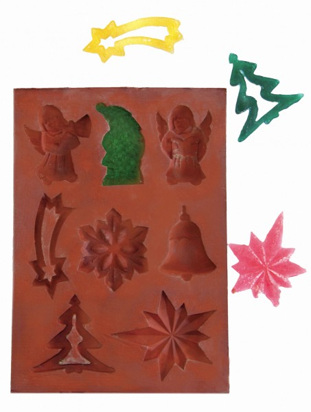 Weihnachtsanhänger-Giessform