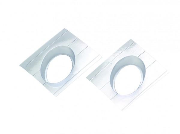 Seifengießform oval für Reliefeinlagen