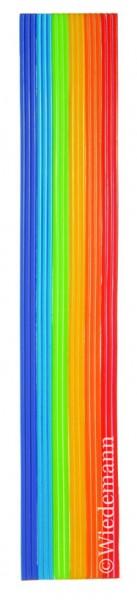 Verzierwachsstreifen Regenbogen