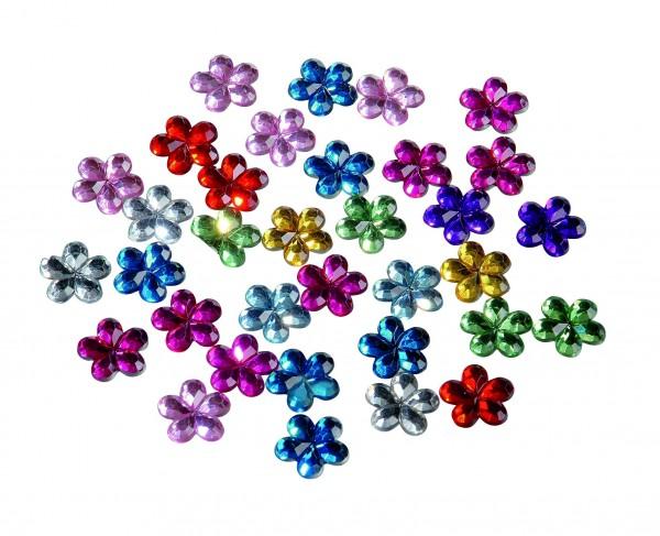 Schmuck-Steine Blüte