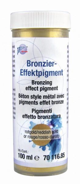 Bronzier-Effektpigment rotgold