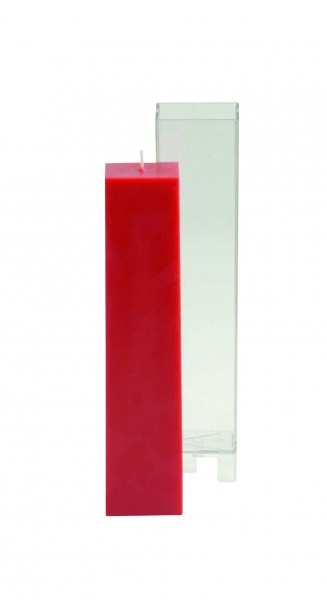 hohes Quadrat D:38mm Kerzengießform