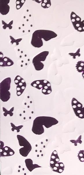Verzierwachs Farfalle fuchsia
