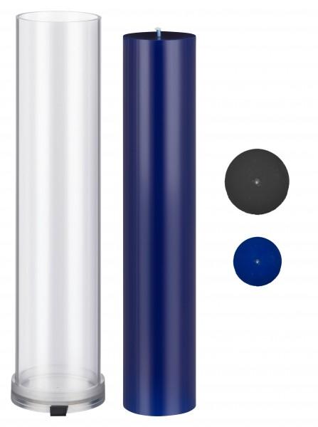 Zylinder D 80mm H 405mm Kerzengießform