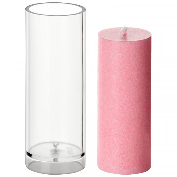 Zylinder D 48mm H 130mm Kerzengießform