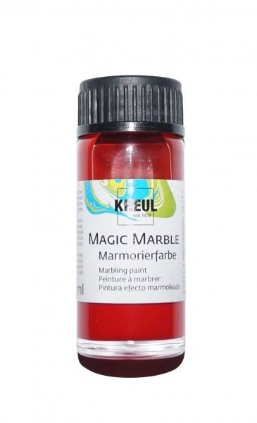 Marmorier-Farbe Rubinrot