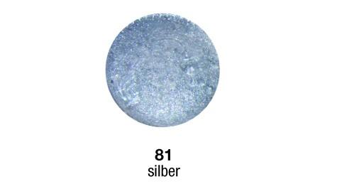 Pulverfarbe Sapolina silber