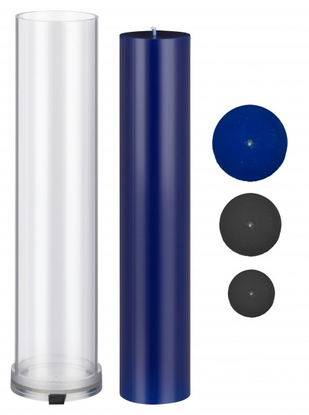 Zylinder D 70 mm H 280 mm Kerzengießform