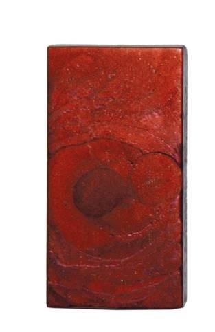 Enkaustic Metallicfarbe lavarot