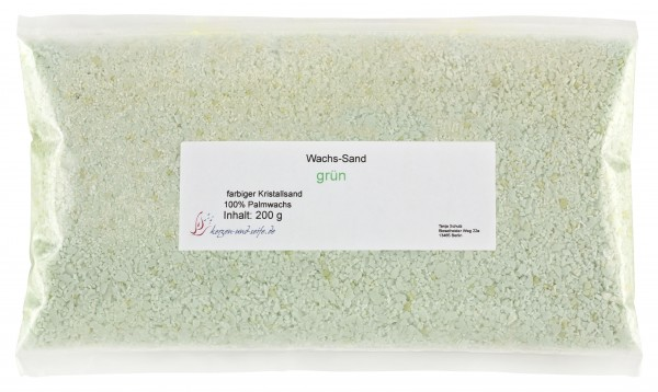 grün WaxSandArt