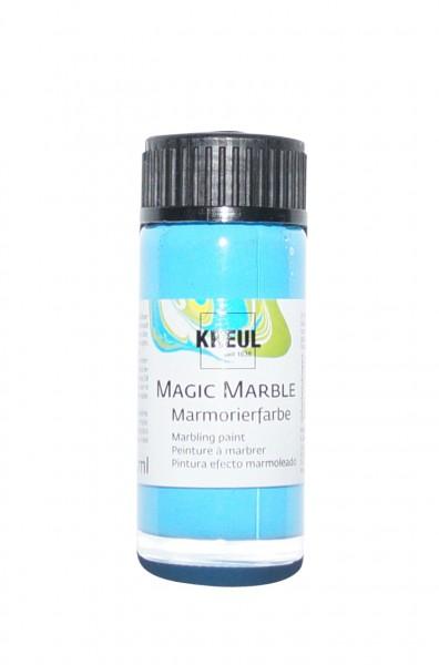 Marmorier-Farbe Hellblau