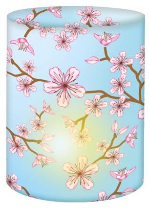 Kirschblüten Mini-Tischlicht