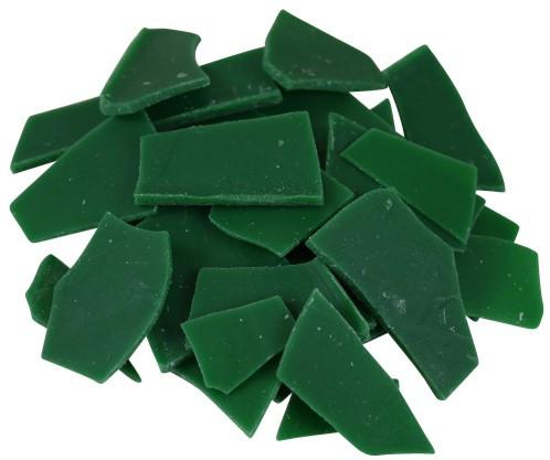 Wachssplitter grün 200g