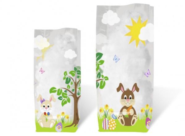 Geschenk-Bodenbeutel Hasen klein