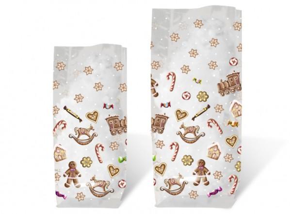 Geschenk-Bodenbeutel Süße Weihnachten klein