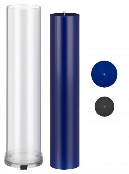 Zylinder D 90mm H 405mm Kerzengießform