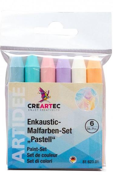 Enkaustic-Malfarben-Set pastell