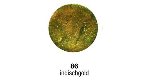 Pulverfarbe Sapolina indisch gold