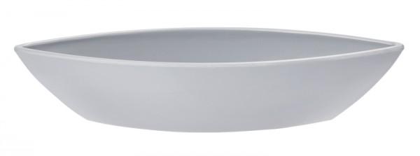 Boot grau groß Schale