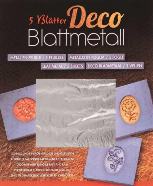 Blattmetall silber