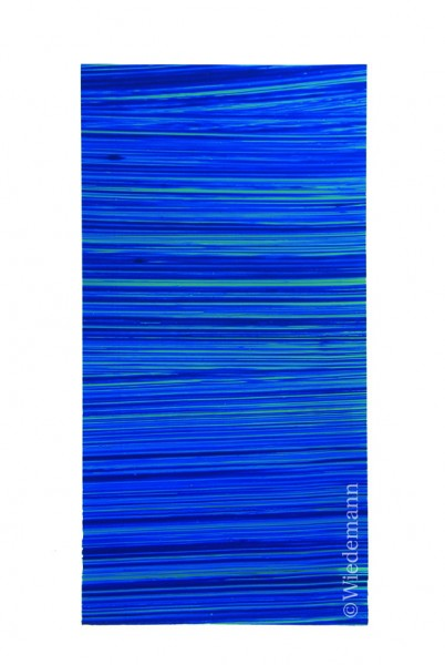 Verzierwachs Blau Dunkel Gestreift
