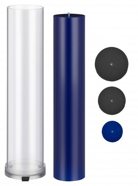 Zylinder D 50 mm H 280 mm Kerzengießform