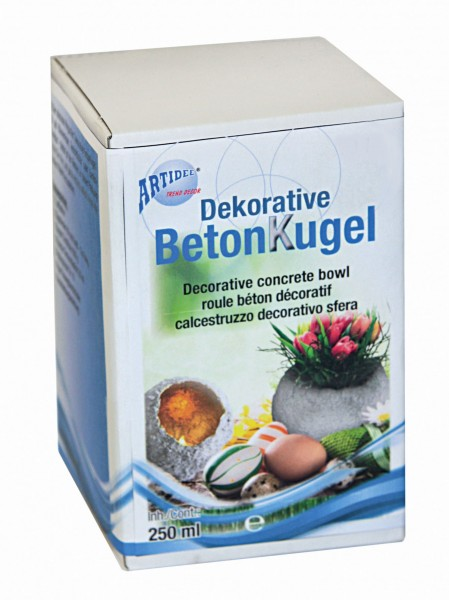 Dekorative Betonkugel-Set